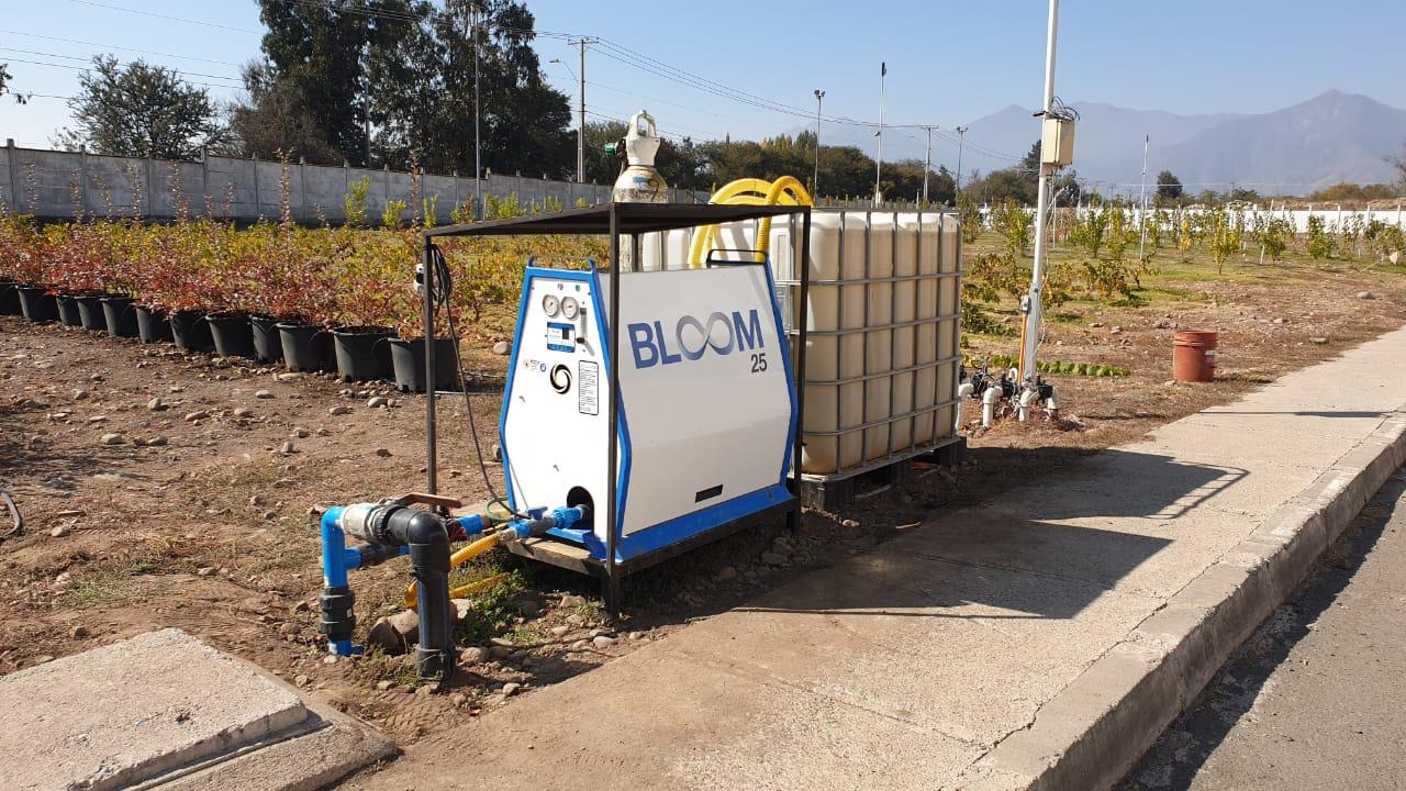 Nanoburbujas en la Agricultura: Proyecto Olivos